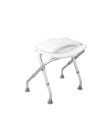"""Drive 12487 Folding Bath Bench With Backrest"""