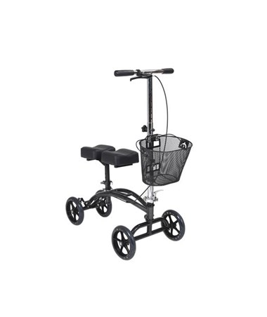 Steerable Knee Walker with Basket DRI796
