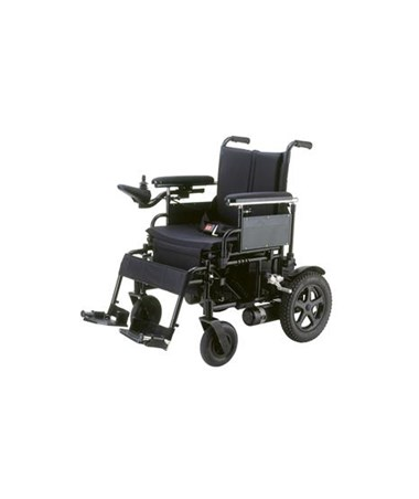 Cirrus Plus Folding Power Wheelchair with Footrest and Batteries DRICPN16FBA