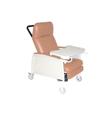 """Drive D574-R 3 Position Geri Chair Recliner, Rosewood"""