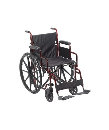 Rebel Lightweight Wheelchair DRIRTLREB18DDA-SF