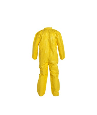 DuPont Coverall - Zipper Front, Bound Seam, Yellow