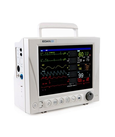 Patient Monitor w/Printer and Respironics Loflow c02 Module MDPIM8