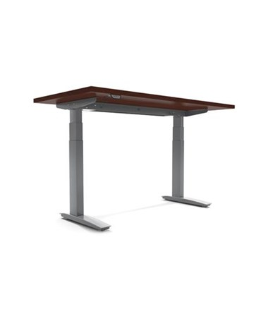 BeneFIT Series Premium Electric Adjustable Table Base for Rectangle & Peninsula Work Surfaces ESI2E-C36-24-