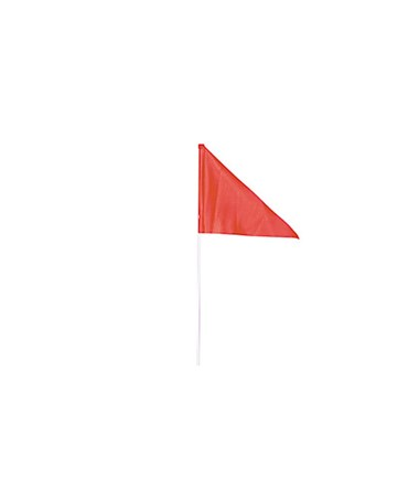 Flag safety:  (1) Flag W/ (2) Piece Pole EVRJBI-93489
