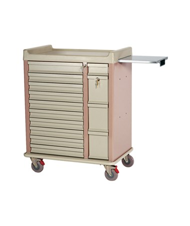 HARAL294BOX- OptimAl™ All-Alluminum Medication Box Cart - 300 Boxes storage capacity