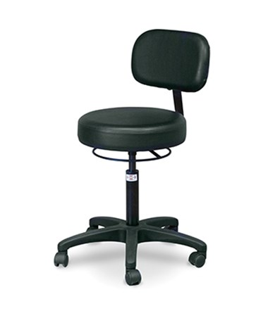 Economy Air-Lift Stool with Backrest HAU2156-707