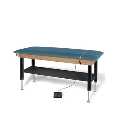 Hi-Lo Power Plinth Table with Shelf HAU4719