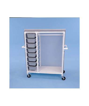 Garment Sliding Drawer Cart HMPGDC488W5-