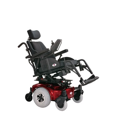 Allure Power Chair with Tilt-in-Space Rehab Seat HRTHP6RT‐18-