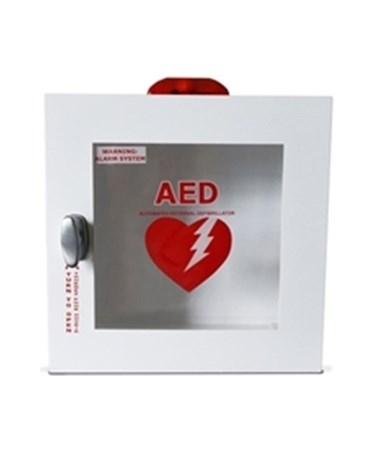 HSMHST-CAB01- AED Wall Cabinet -Outdoor, with Alarm & Strobe