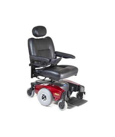M51PSEMIBLUE Invacare Pronto Power Wheelchair