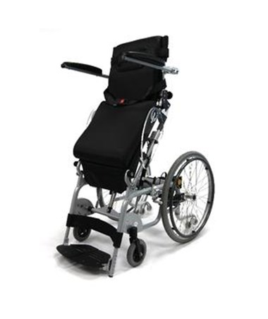 Karman Standing Wheelchair Manual Propel Power Stand in Standing Position
