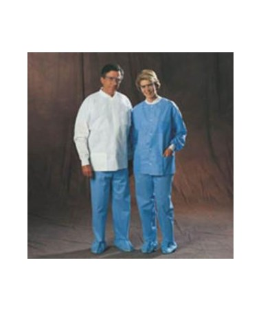 Kimberly Clark Universal Precautions Lab Jacket (Blue not available)