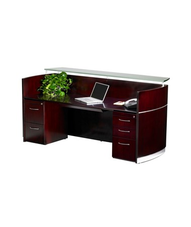 Napoli® Reception Station with Optional Pedestals MAYNRS-