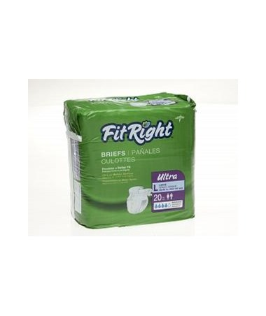FitRight™ Ultra Size Large Briefs MEDFITULTRAXLGZ