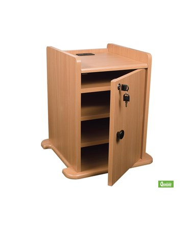 Optional Locking Cabinet.