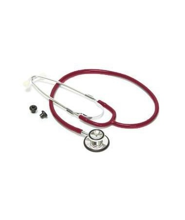 Pro Advantage Dual Head Stethoscope - Red