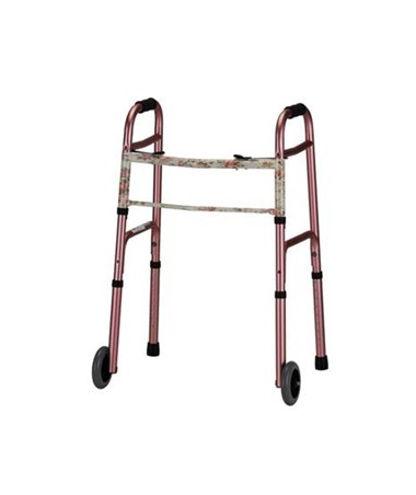 Folding Walker Two Button Release NOV4080B