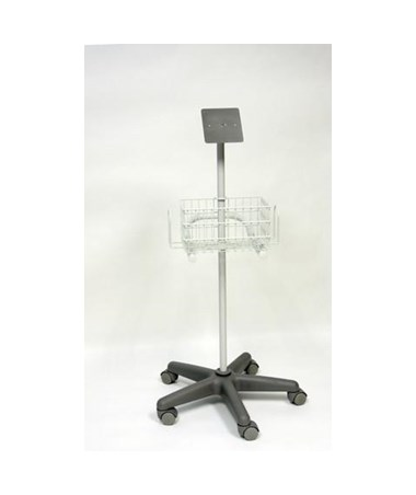Tabletop Doppler Stand with Basket