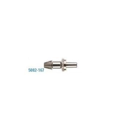 Metal Male Luer Slip Connector with Barbed End, Box of 10 WEL5082-167