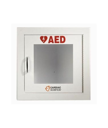 White Wall Cabinet for Powerheart AEDs ZOL50-00392-10