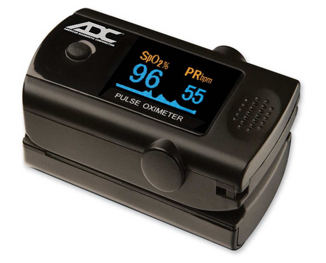 DIAGNOSTIX™ 2100 Digital Fingertip  Pulse Oximeter ADC2100