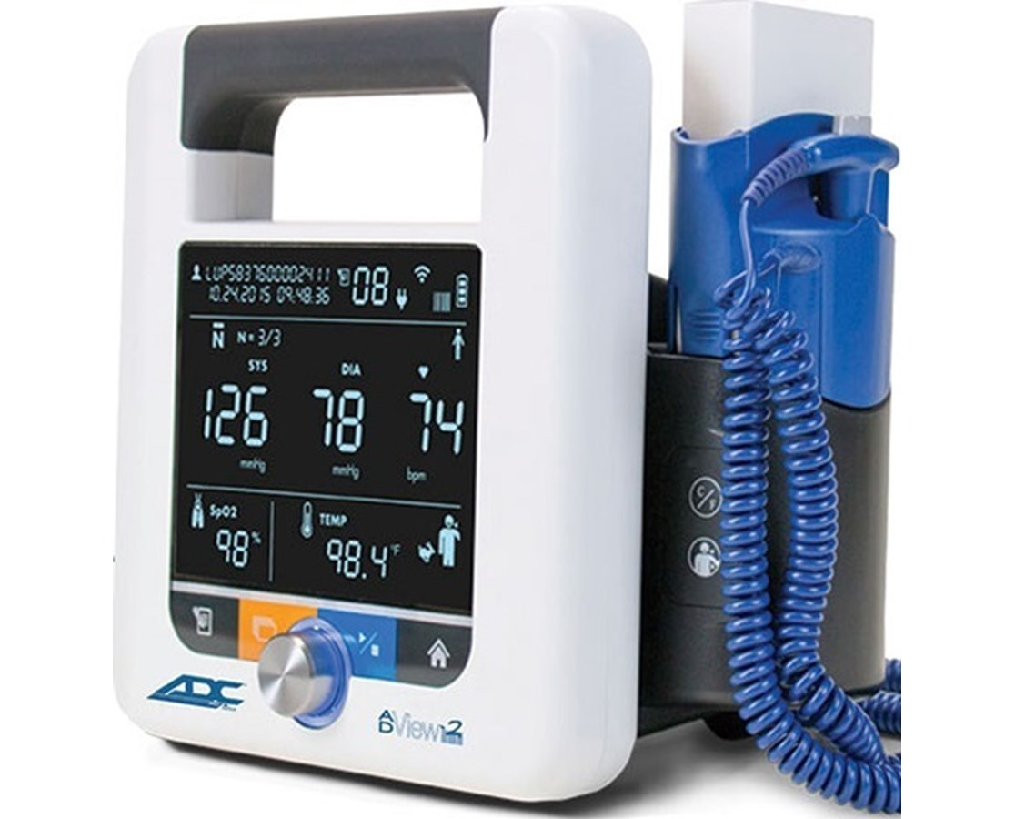 ADView® 2 Modular Diagnostic Vital Signs Monitoring Station 9005BPSTO-