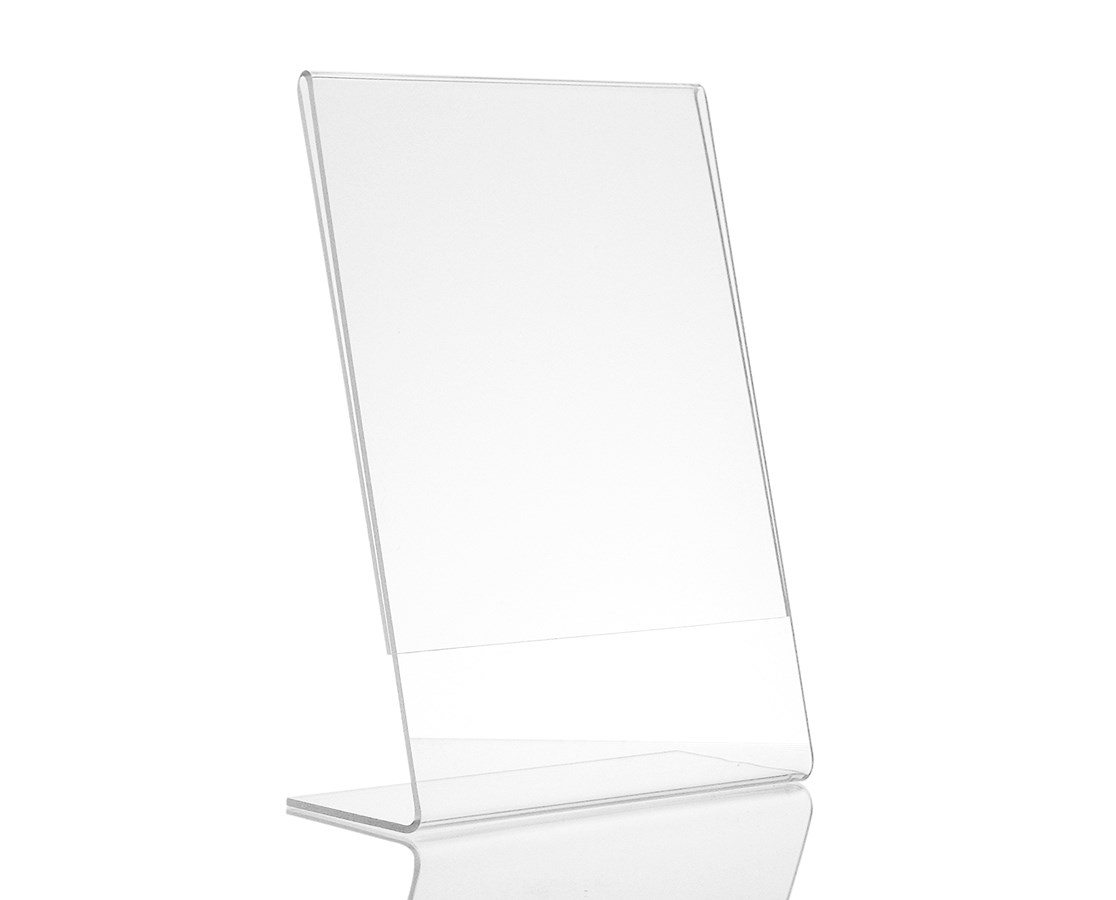 AdirOffice  Acrylic Top-Loading Sign Holder ADI639-46-3