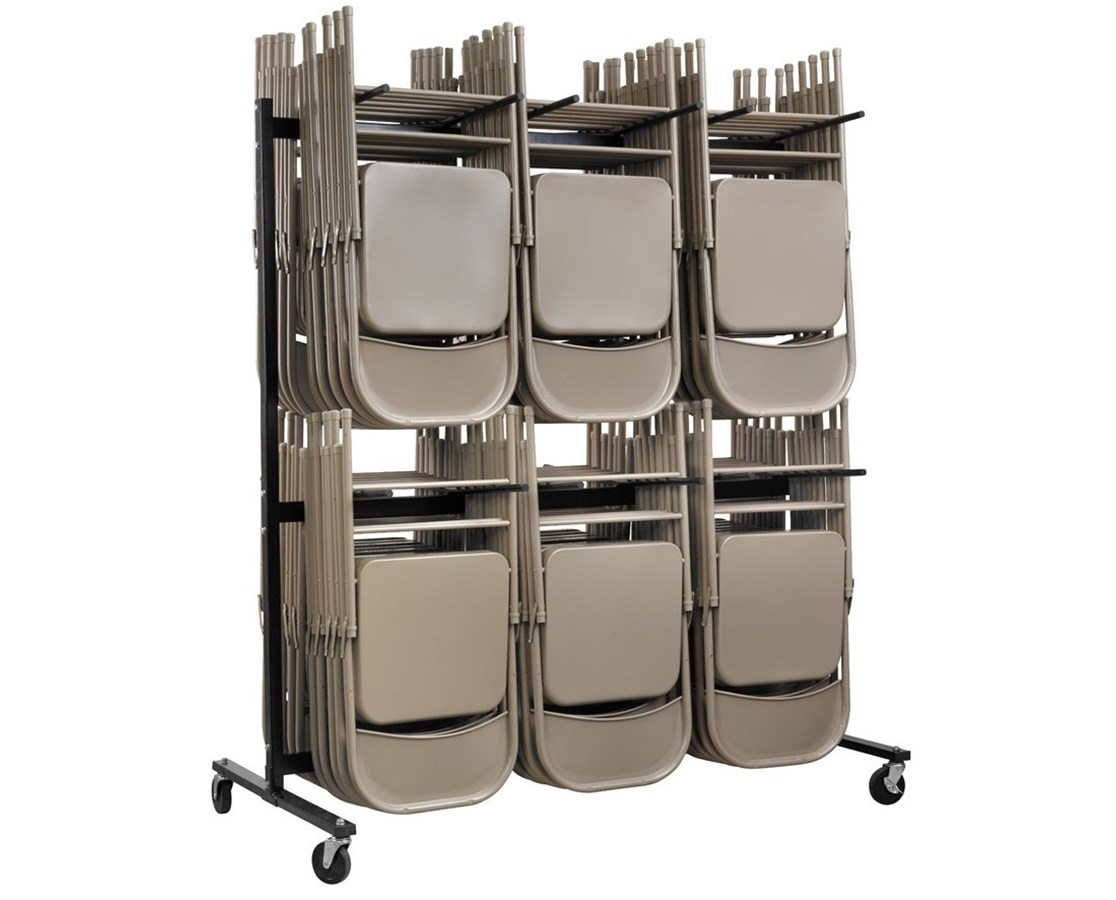 Two Tier Folding Chair Cart ADI690-03  sc 1 st  Tiger Medical Inc & AdirOffice Two Tier Chair Cart - Free Shipping Tiger Medical Inc