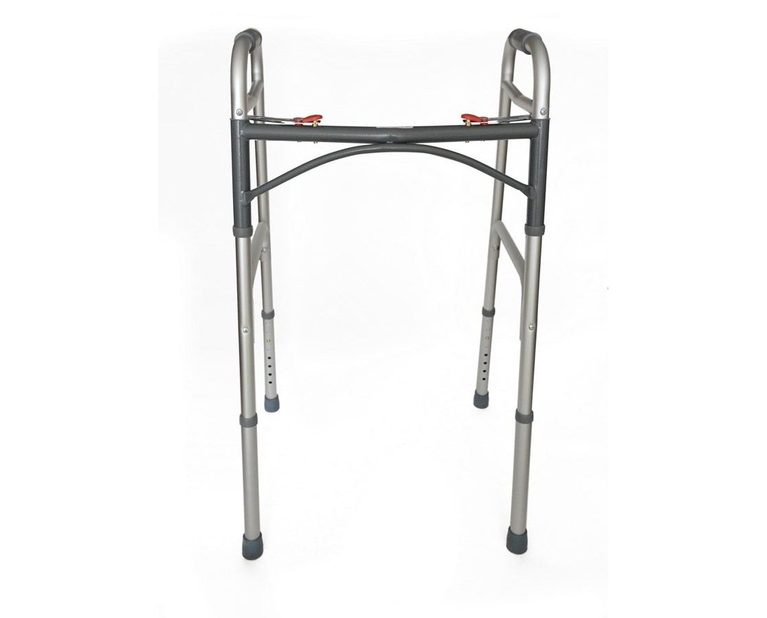 Folding Walker with Push Button ADI930-00