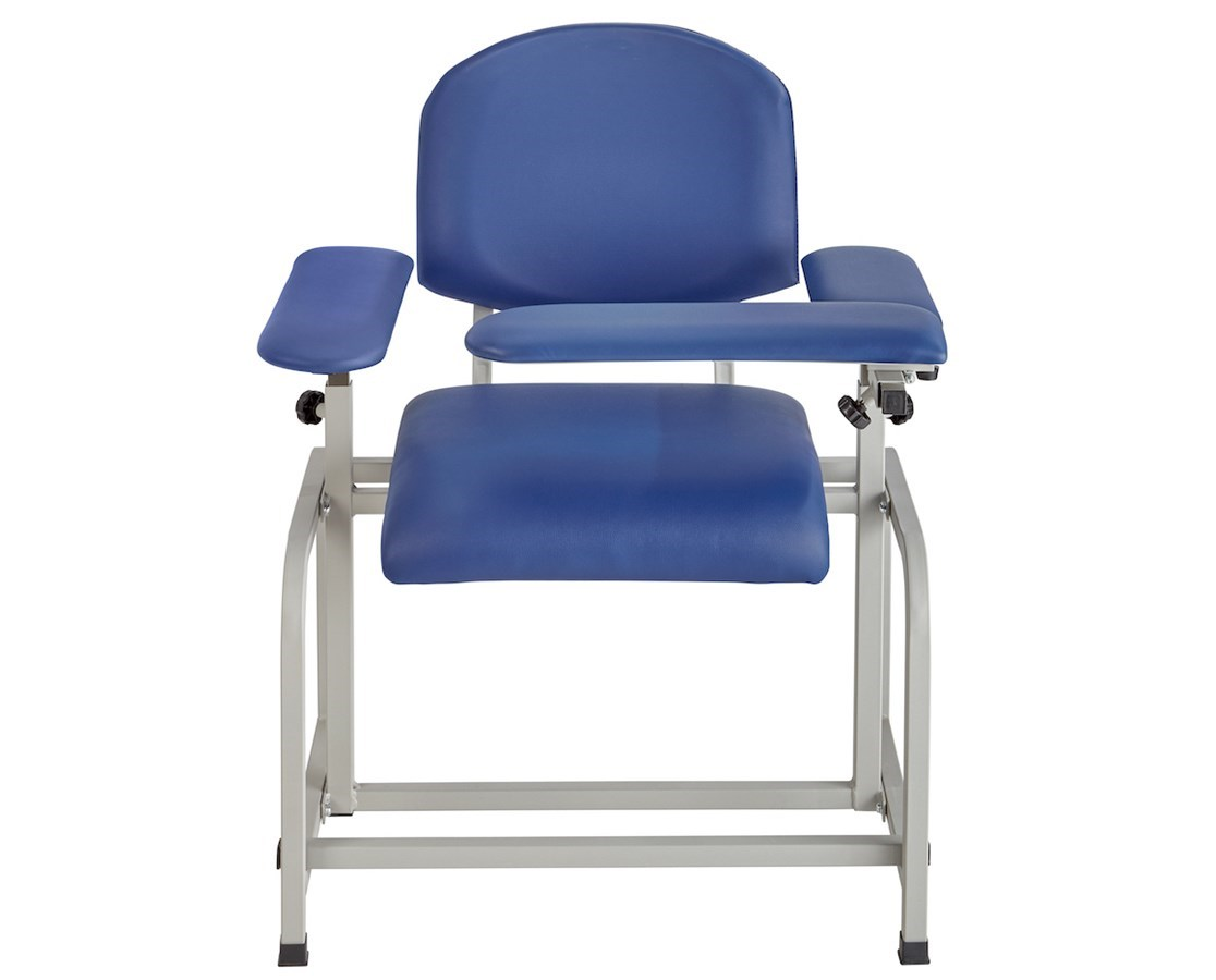 Padded Blood Drawing Chair ADI997-01-BLK