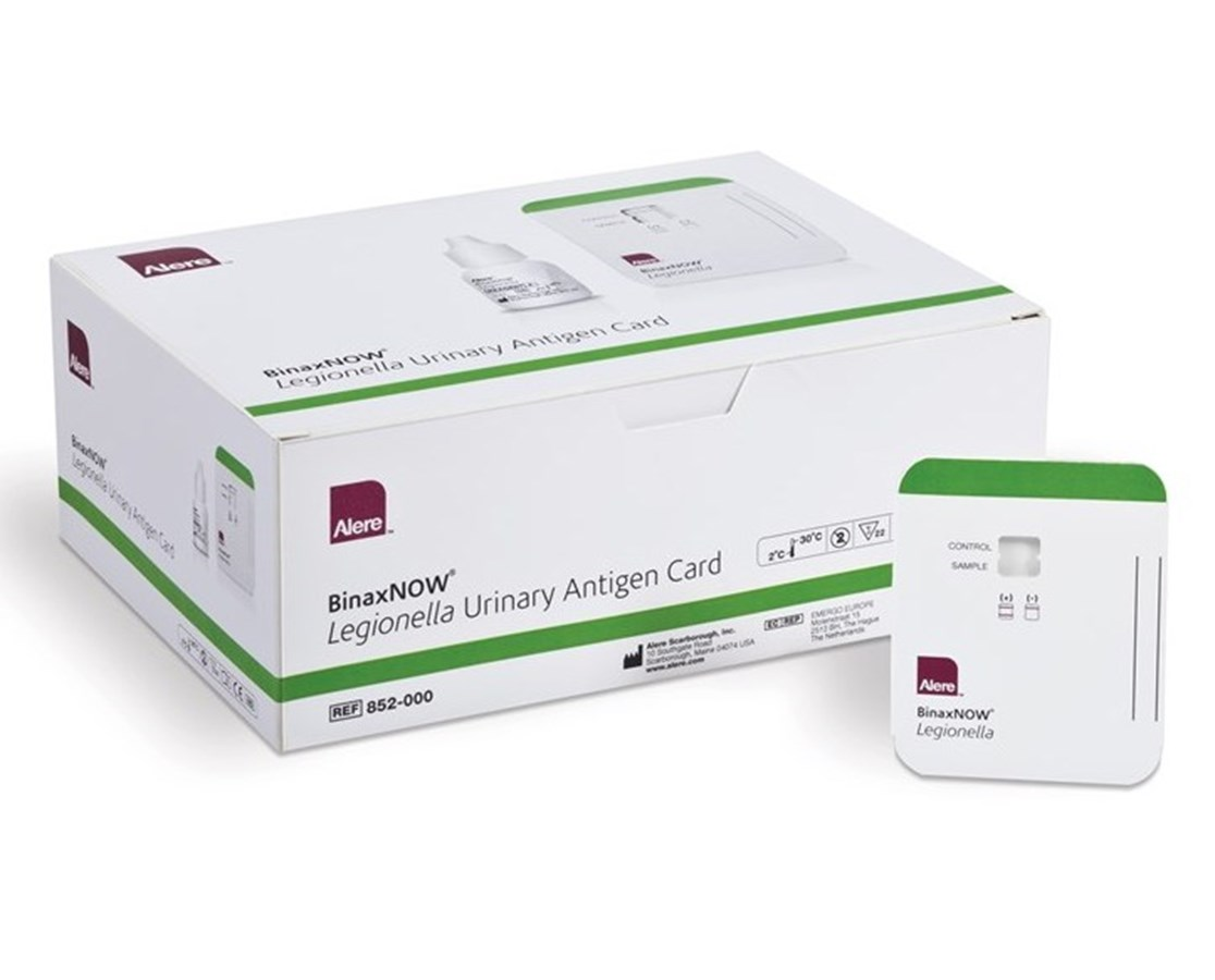Binaxnow® Legionella Urinary Antigen Test Kit ALE852-000