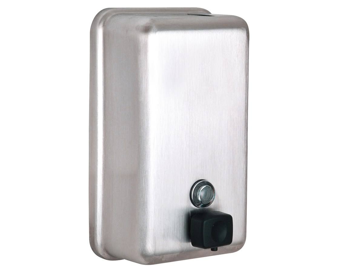 Alpine Manual Surface-Mounted Stainless Steel Liquid Soap Dispenser ALP423-SSB