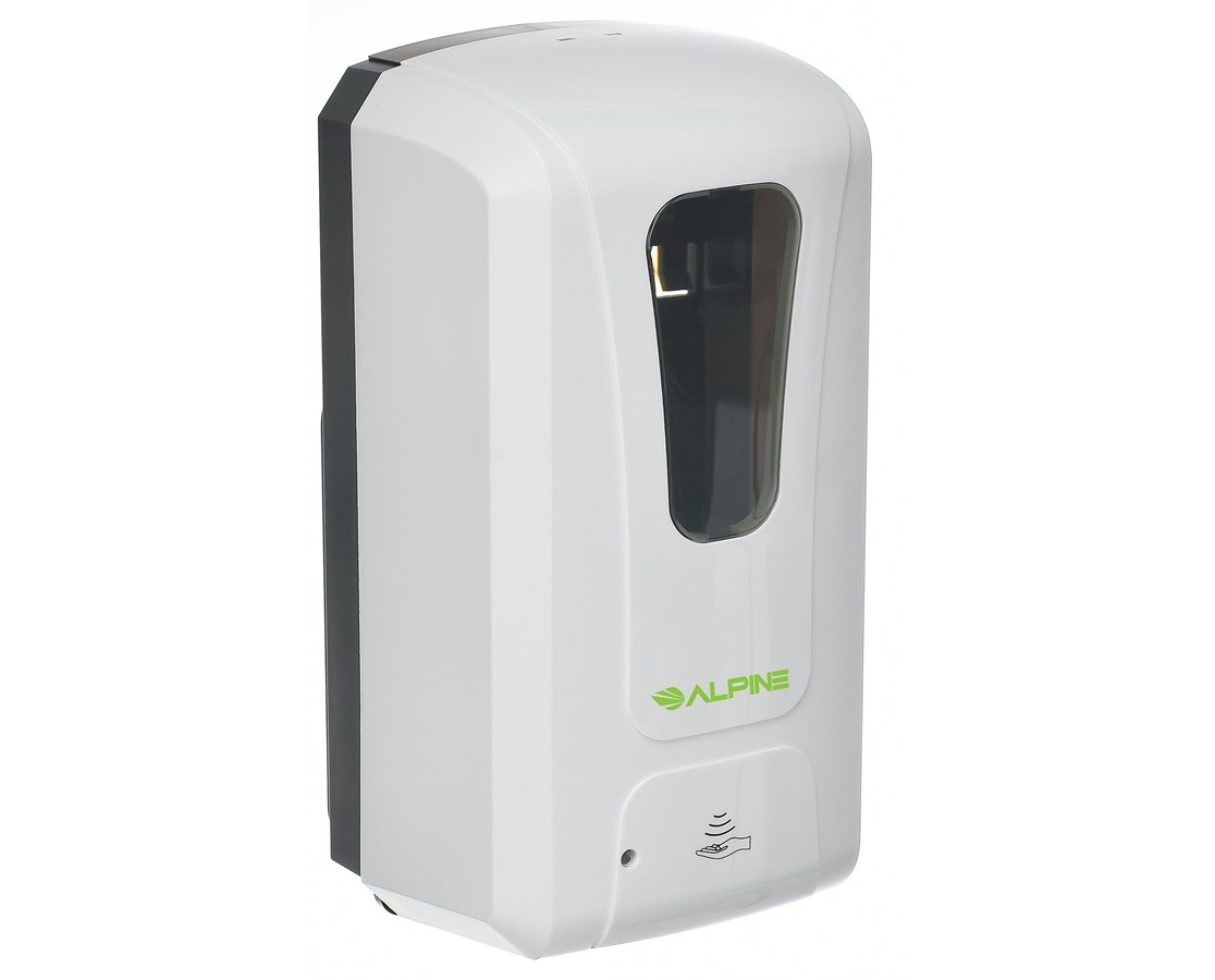 Automatic Hands-Free Soap & Hand Sanitizer Dispenser ALP430-L