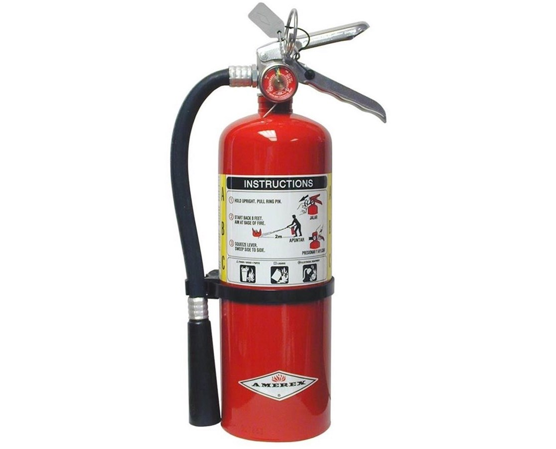 6 lbs Multi-Purpose ABC Dry Chemical Fire Extinguisher (3A:40B:C) AMRB443