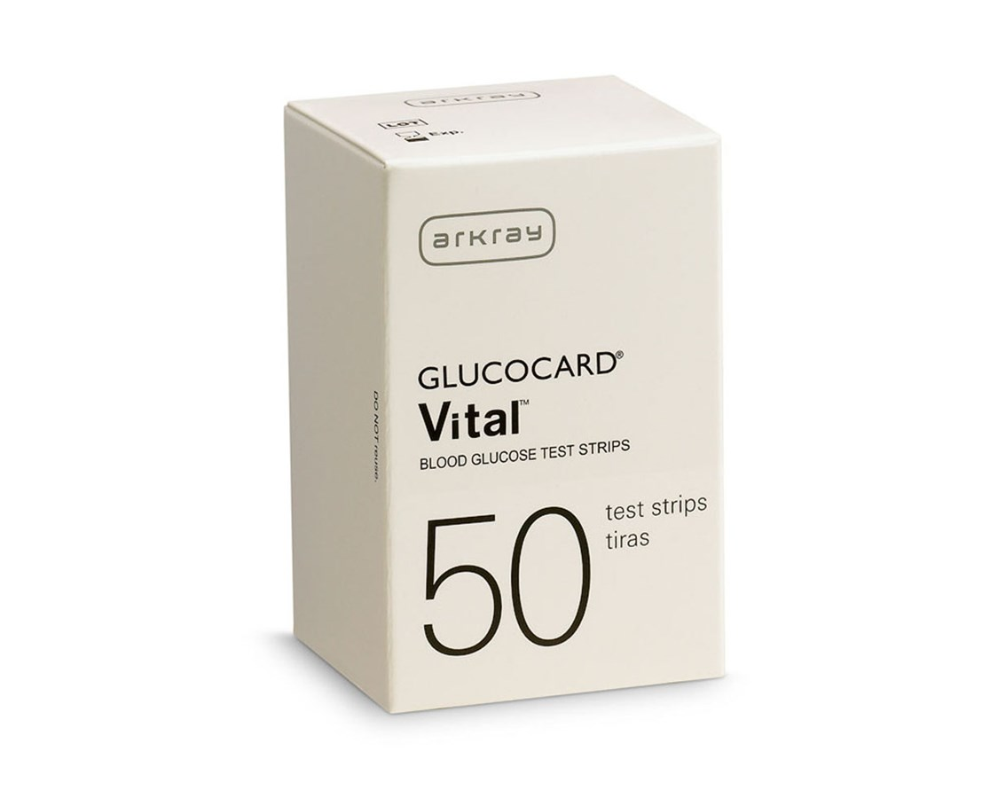GLUCOCARD Vital Test Strips for Vital™ Blood Glucose Monitoring System ARK760050-