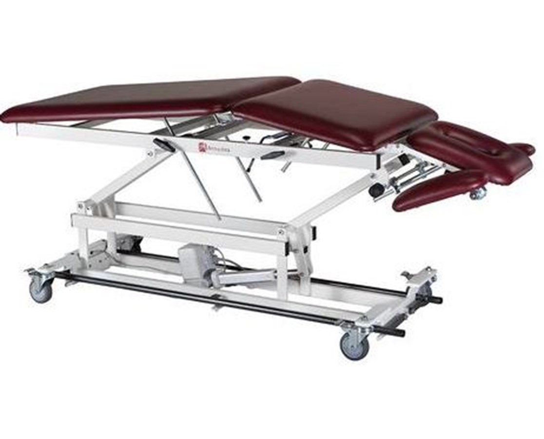 Hi-Lo Treatment Table with Elevated Center Section & Tilt / Adjustable Armrests Options ARMAM500-