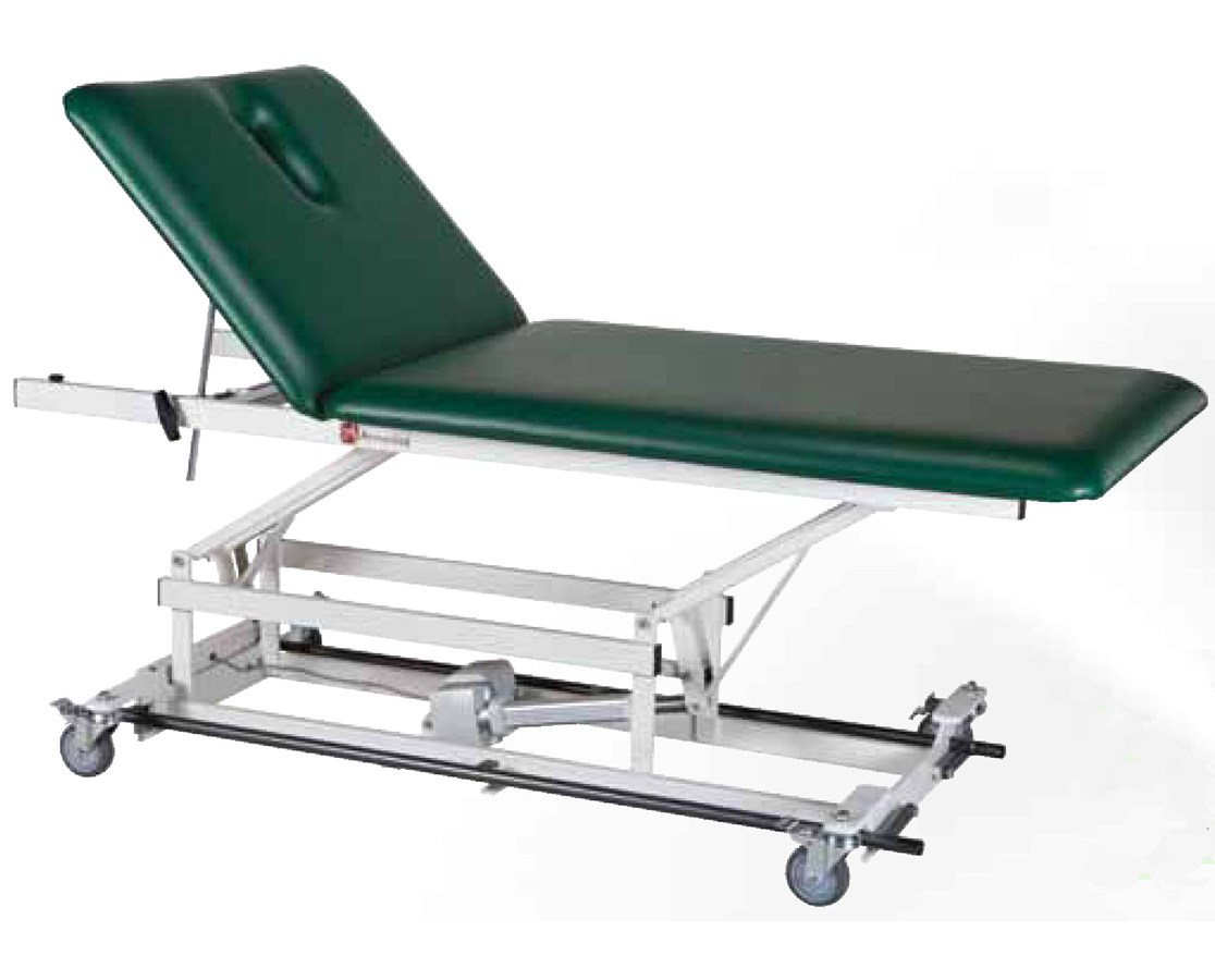 Bo-Bath Treatment Table with Two Section Top & Bar Activated Hi-Lo Control ARMAMBA227-