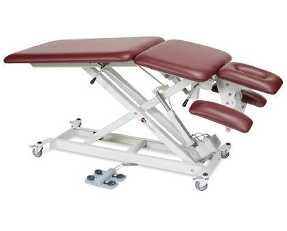 Hi-Lo Treatment Table with Power Flexing Center & Adjustable Armrests ARMAMSX5000
