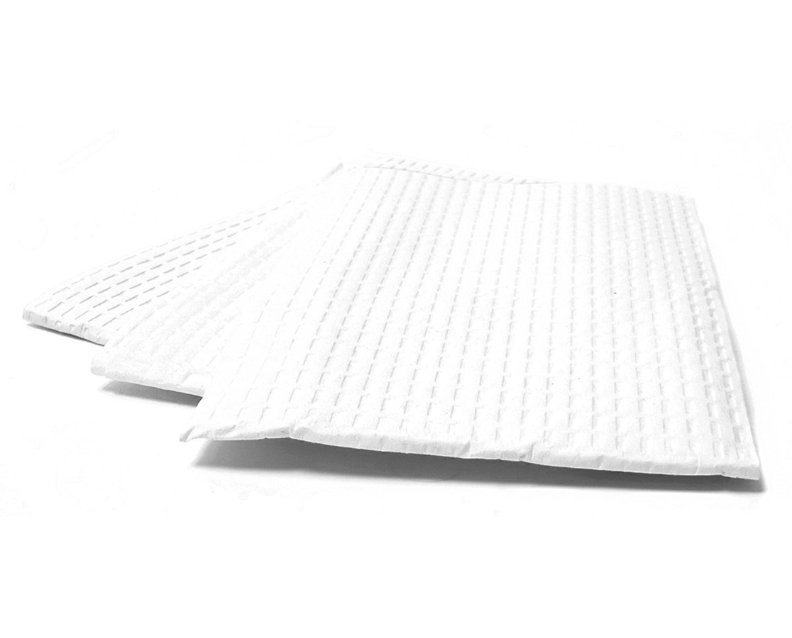 "3-Ply Tissue/Poly Towels - 17"" x 18"" AVA1161A"