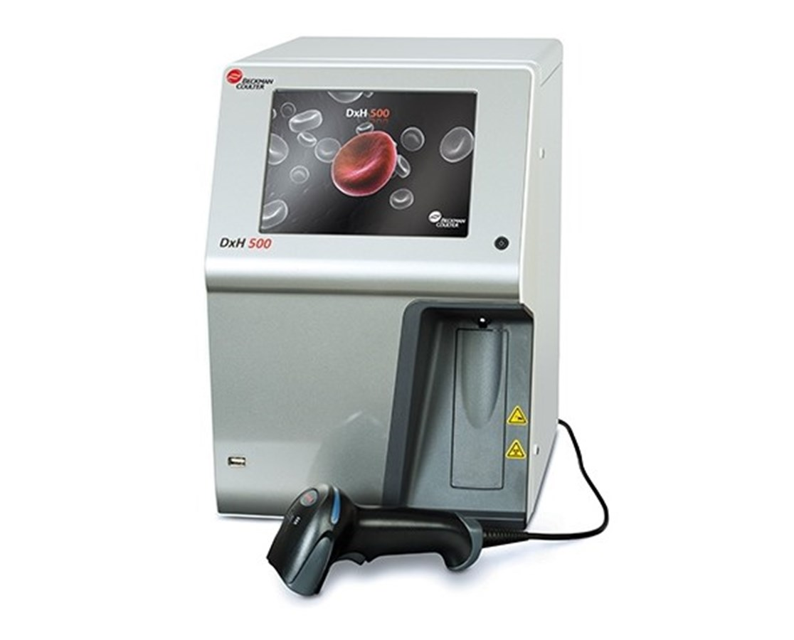 DxH 500 Hematology Analyzer, without Cap Piercing BCKB40601
