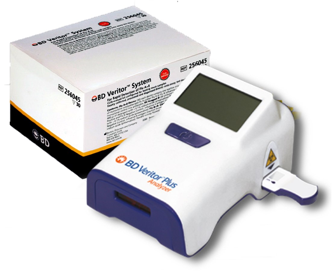 Veritor™ Plus Lab Combo Pack with Optional CLIA-Waived Laboratory Kits BD256073