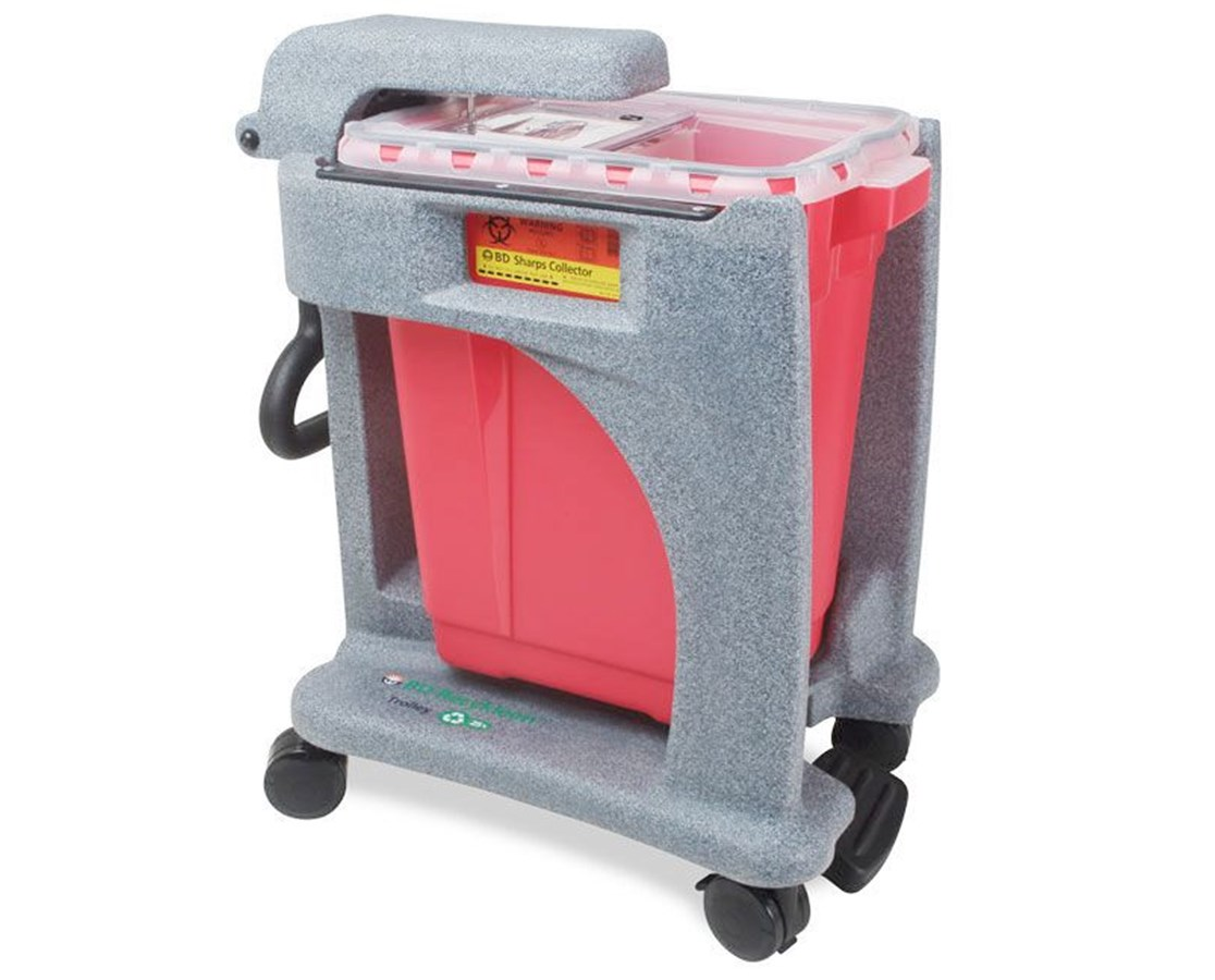 BD Recykleen Trolley for Sharps Collector BD305090