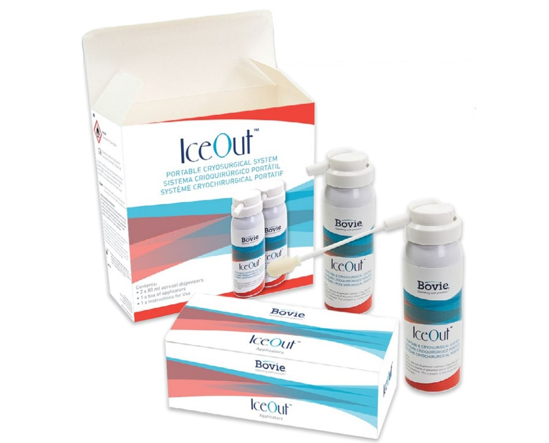 IceOut™ Portable Cryosurgical System - Two 80 mL Canisters BOVCRY2-