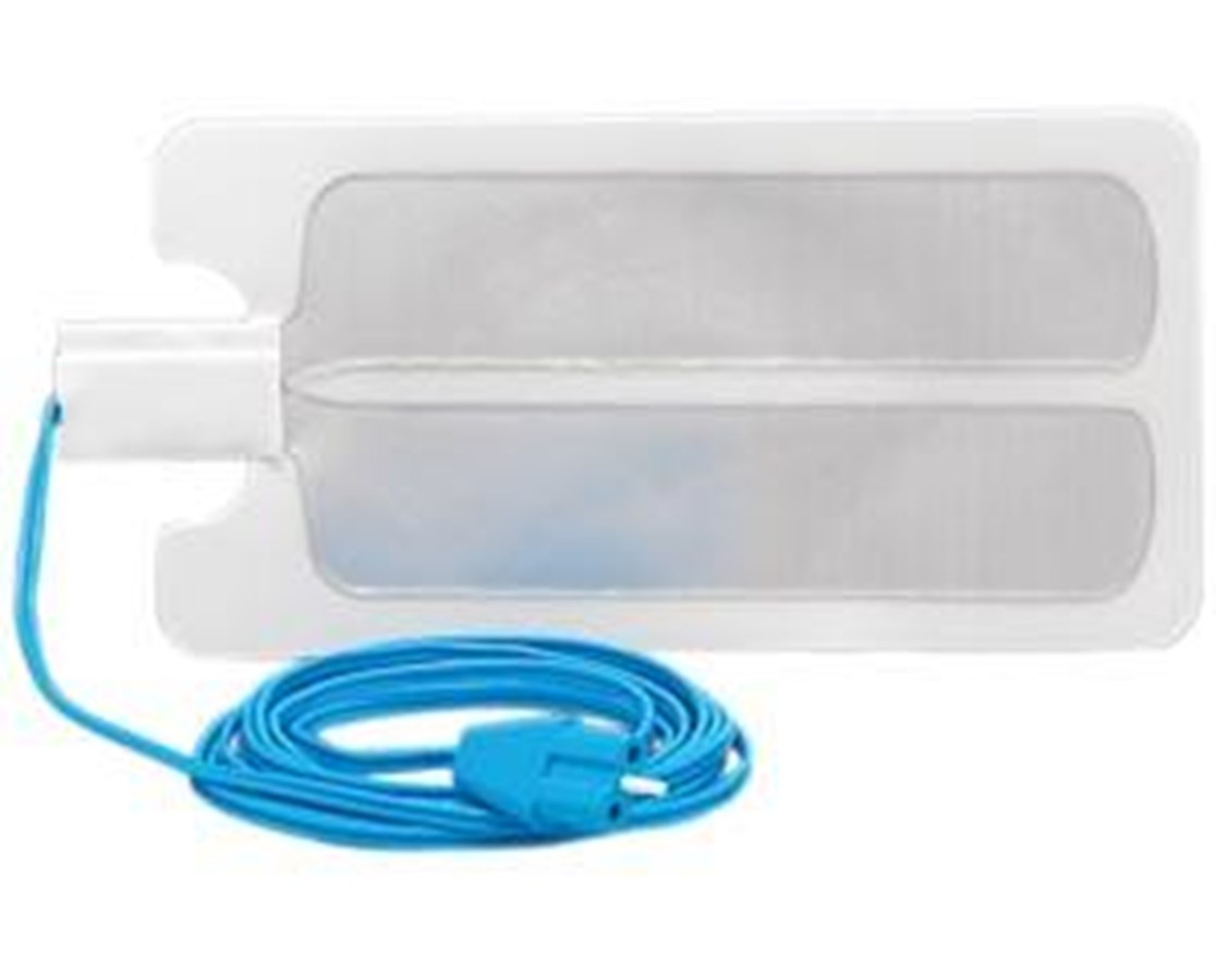 Disposable Split Adult Return Electrodes with Split Cable BOVESREC