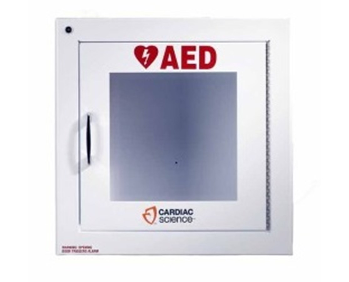Surface Mount Wall Cabinet with Alarm for Powerheart AEDs CAR50-00392-20