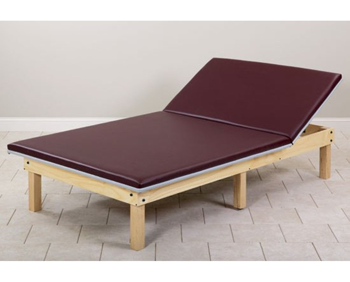 Upholstered Mat Therapy Table with Adjustable Backrest CLI241-47-