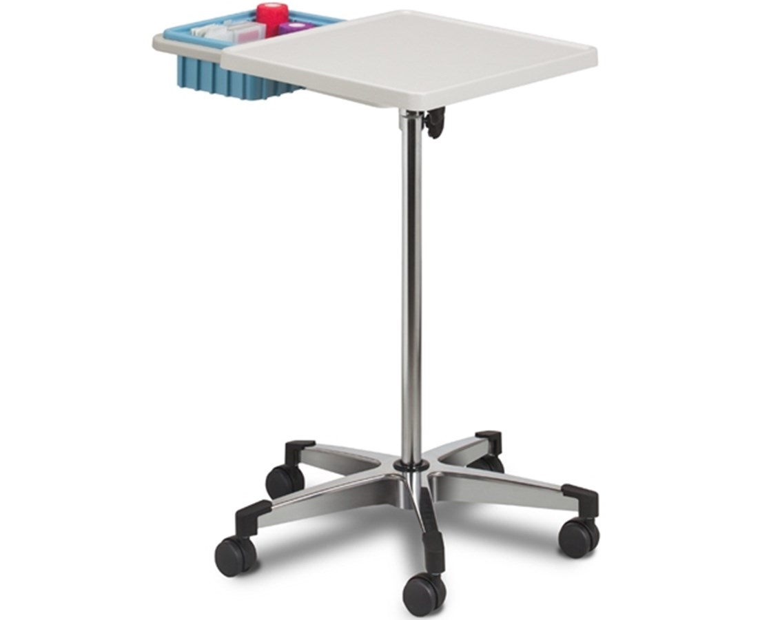 Mobile Phlebotomy Work Station with Bin CLI6900-B