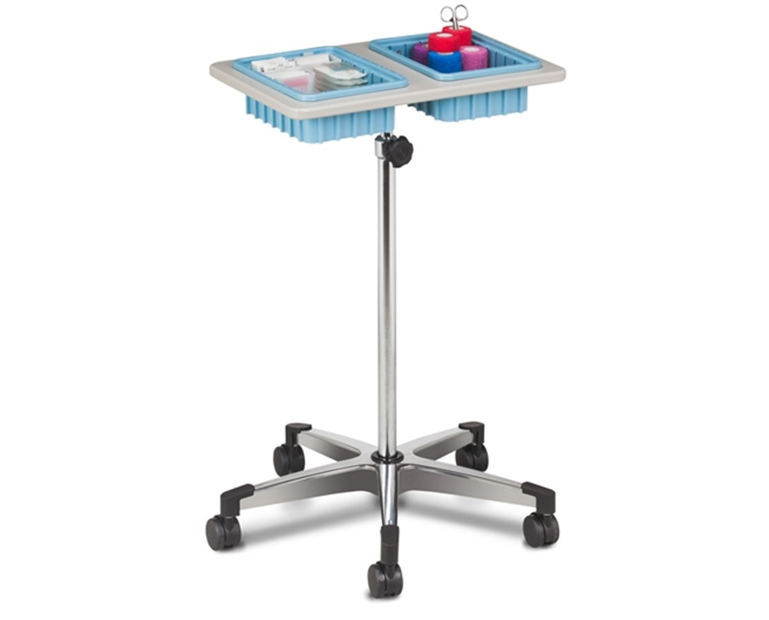 ClintonClean™ Two-Bin Mobile Phlebotomy Stand CLI6902